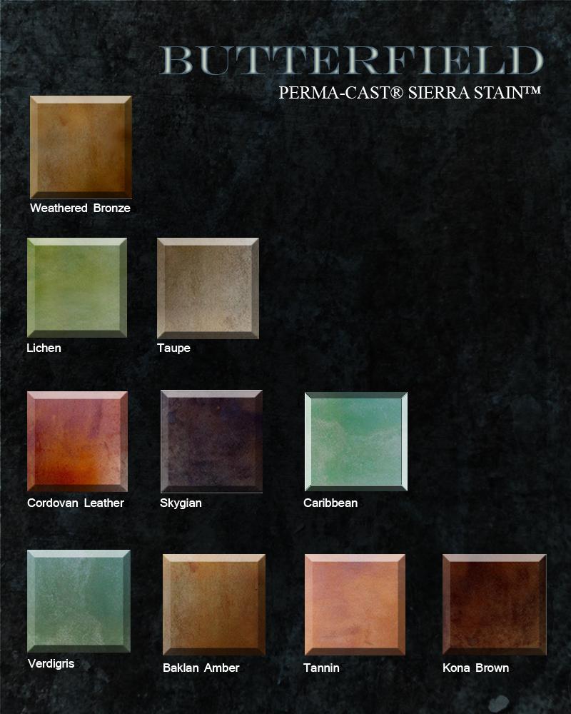 Concrete Stains Colors Artcrete Designs In Austin
