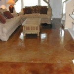 Stained Concrete Floor in Buda-Austin, TX