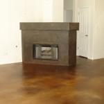 (Floors in Amber/Kona Brown Mix) (Fireplace Kona Brown/Black Mix)