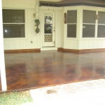 Overlay, Stained in Cordovan Leather